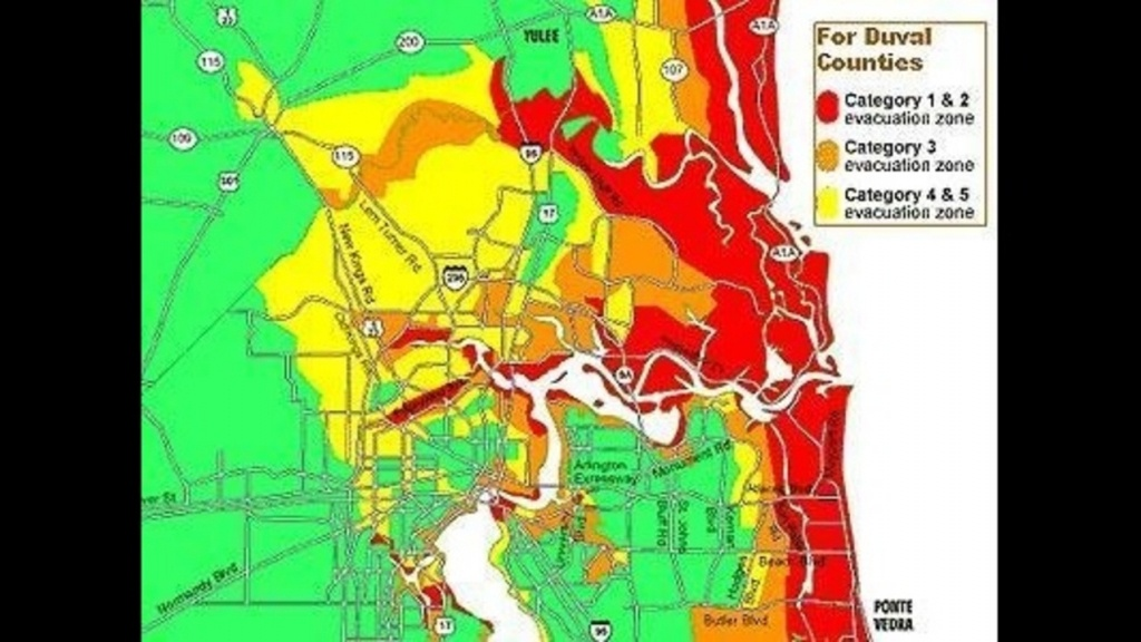 Do You Live In An Evacuation Zone? - Nassau County Florida Flood Zone Map