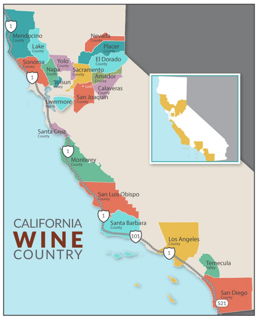 Dog-Friendly Lodging | Dog-Friendly Hikes | Dog-Friendly Parks | Dog - California Wine Ava Map