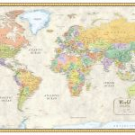 Download Free Large World Map Poster | World Map With Countries   Free Printable Large World Map Poster