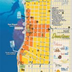 Downtown Cozumel Map | Cozumel In 2019 | Cozumel Cruise, Cozumel   Printable Street Map Of Cozumel