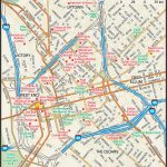 Downtown Dallas Map And Guide | Downtown Dallas Street Map | Travel   Printable Map Of Dallas