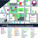 Downtown Map   Caldwell Texas Map
