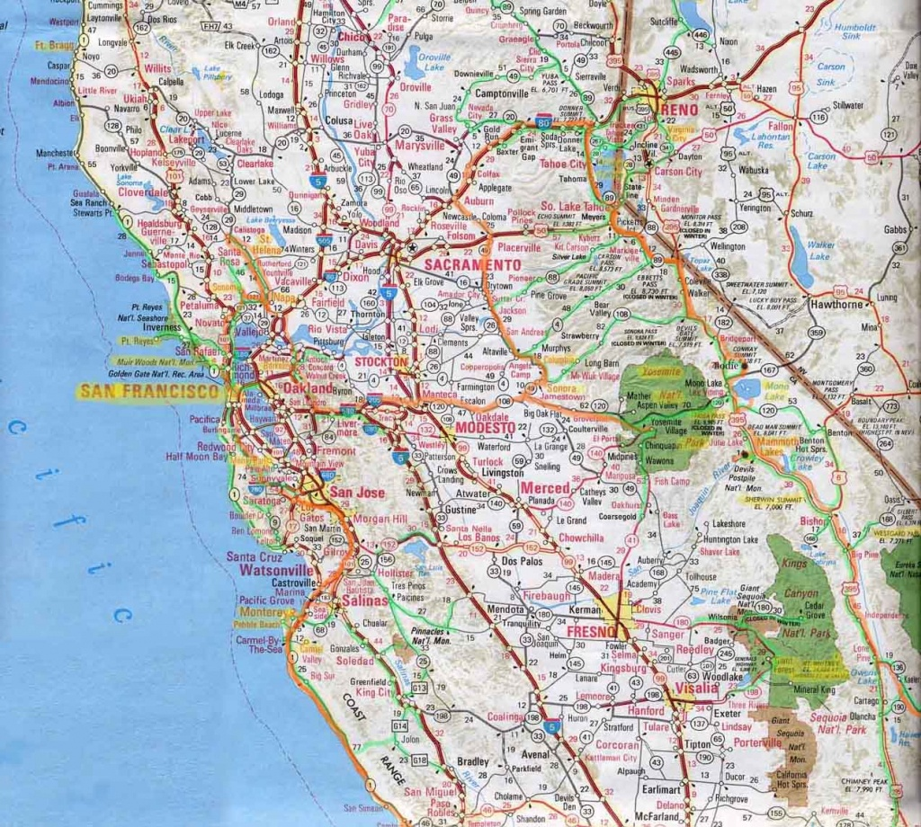 Driving Map Of California - Lgq - Printable Road Map Of Southern California
