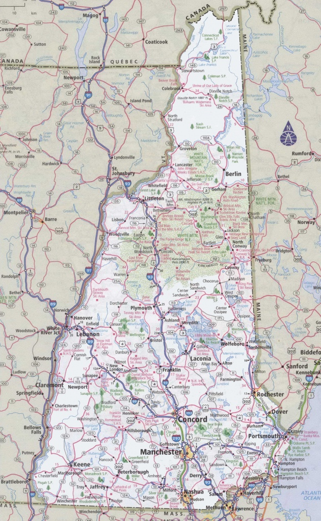 Driving Map Of Washington State And Travel Information | Download - Washington State Road Map Printable