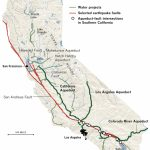 Earthquake Threats To California's Water   Los Angeles Times   California Water Map