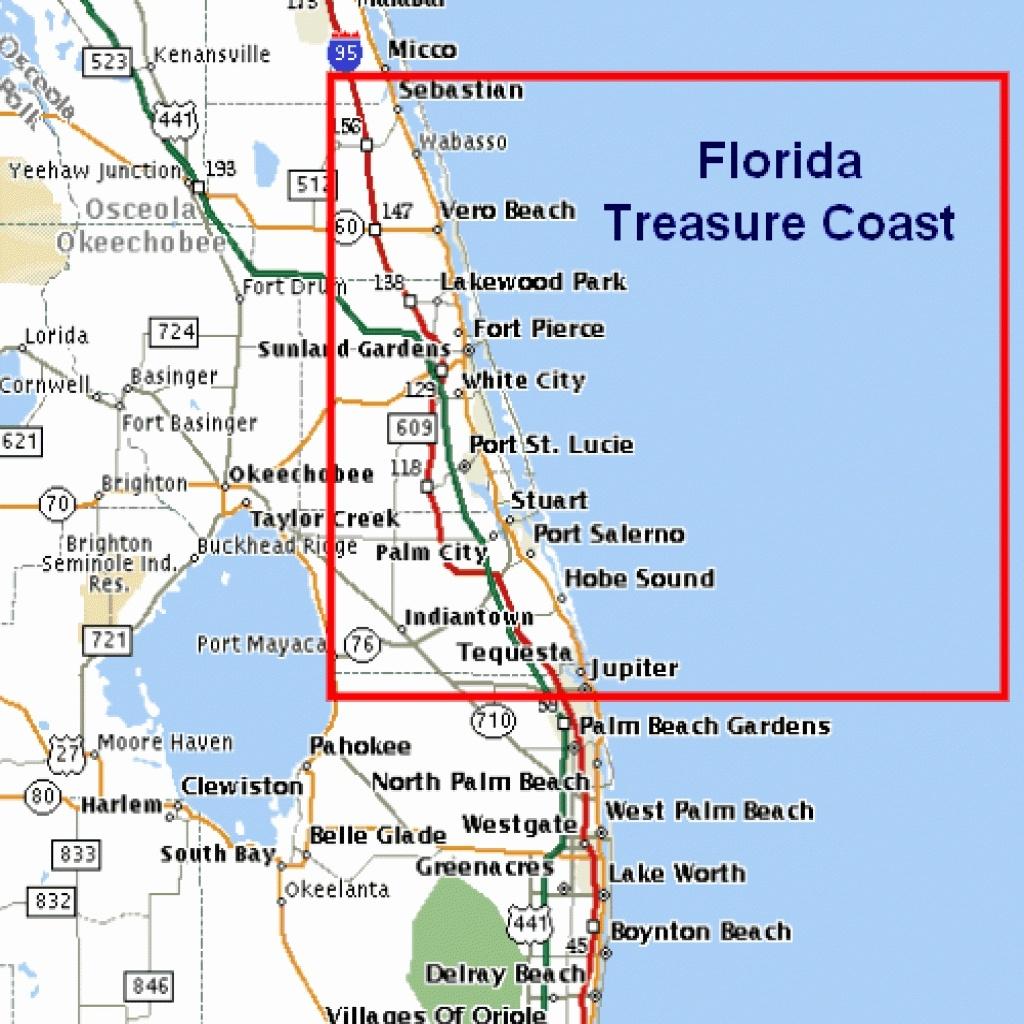 East Coast Beaches Map Lovely Florida East Coast Beaches Map Palm - Map Of Florida Coast Beaches