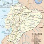 Ecuador Maps | Maps Of Ecuador   Printable Map Of Ecuador