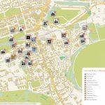 Edinburgh Printable Tourist Map | Sygic Travel   Boston Tourist Map Printable