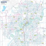 Edmonton Transport Map   Printable Map Of Edmonton