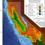 Elevation Map Of California | Historical Maps | California Map   California Topographic Map Elevations