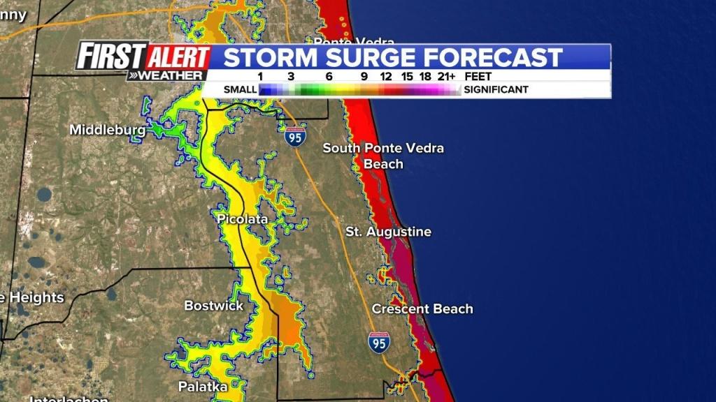 Emergency Links For Hurricane Matthew | Wsb-Tv - Florida Hurricane Evacuation Map