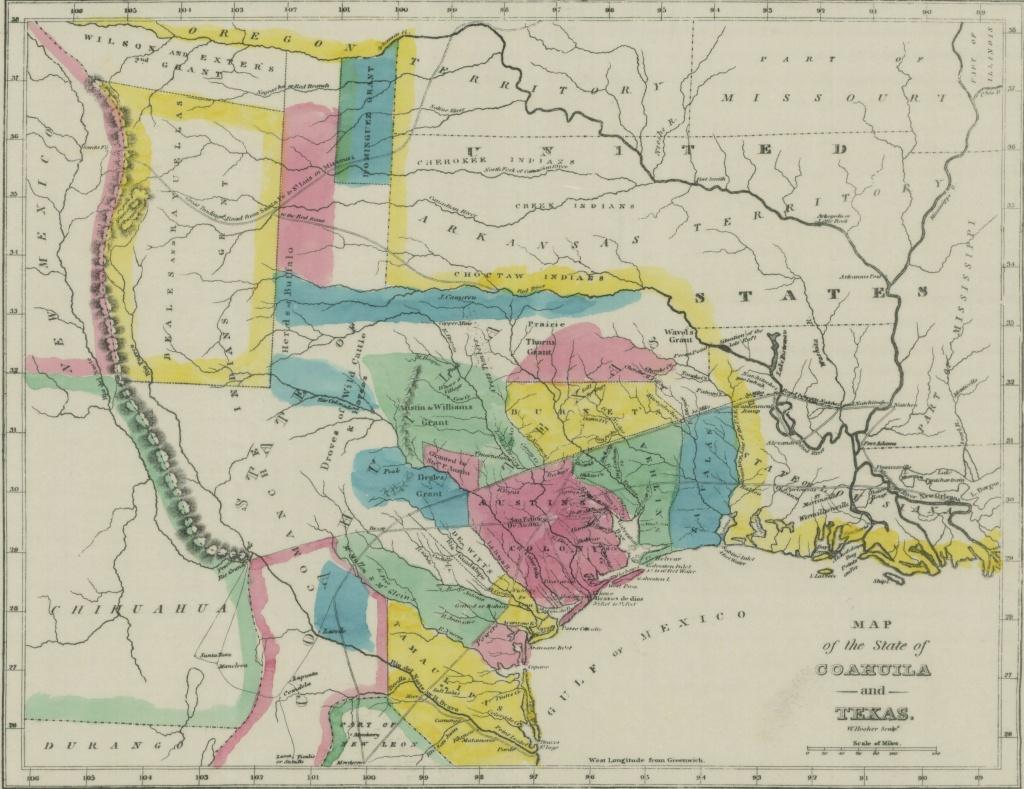Empresario - Wikipedia - Stephen F Austin Map Of Texas