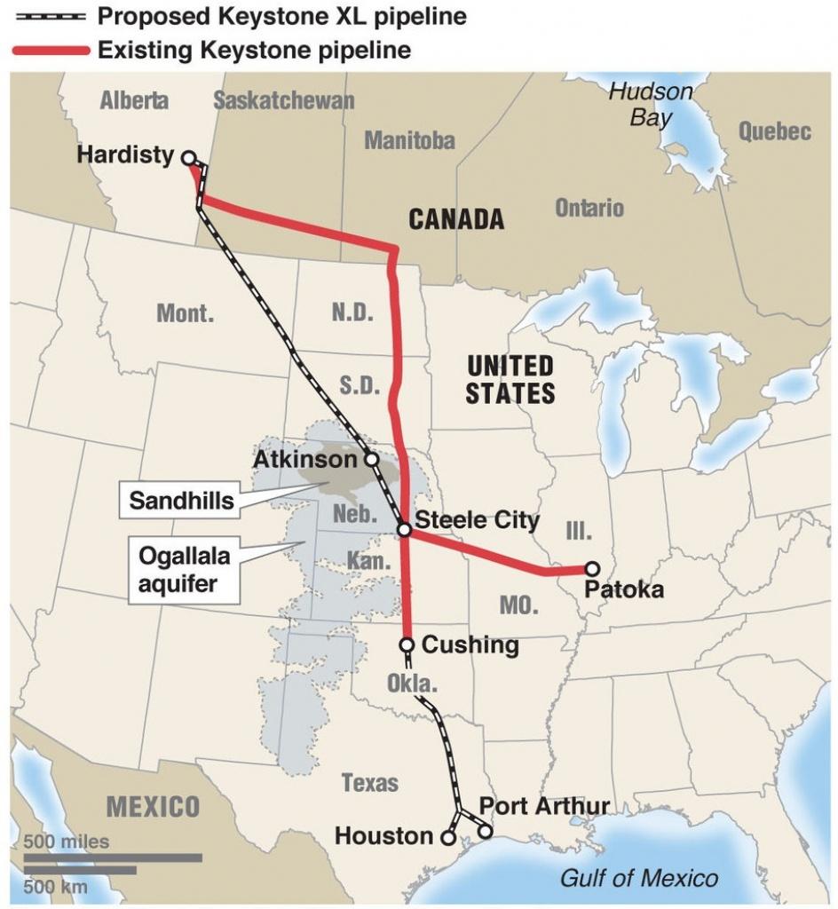 Energy And Industry: Texas Judge Rules Keystone Pipeline Has Eminent - Keystone Pipeline Map Texas