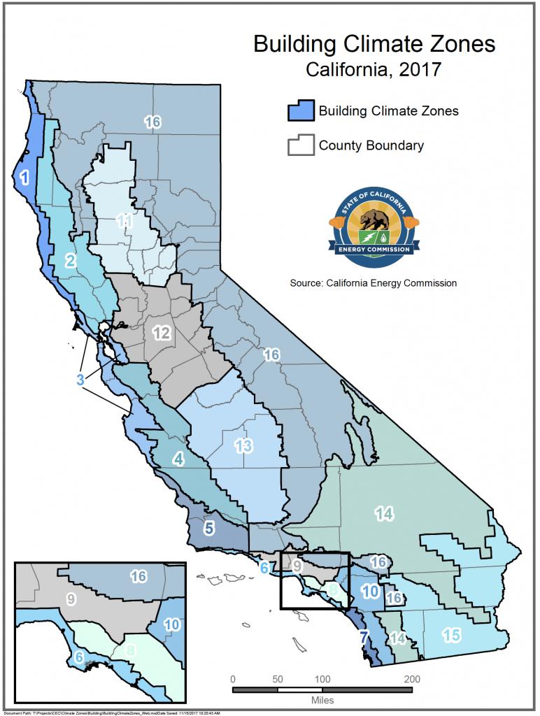 Energy Maps Of California - Califonia Energy Commission - Thermal California Map
