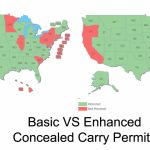 Enhanced Permits And Their Role In Concealed Carry Reciprocity   Texas Reciprocity Map 2017