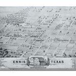 Ennis City Map   Ennis Texas • Mappery | Genealogy | Ennis Texas   Ennis Texas Map