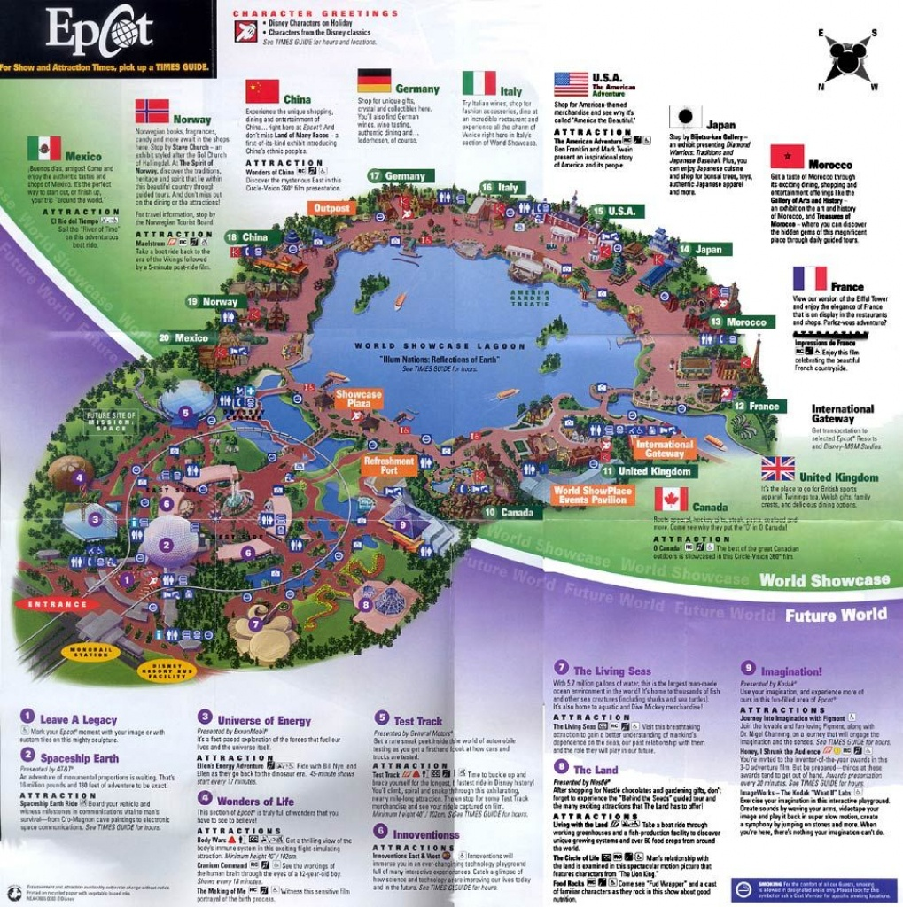 Epcot Map - Google Search | Disney | Epcot Map, Disney Map, Epcot - Epcot Florida Map