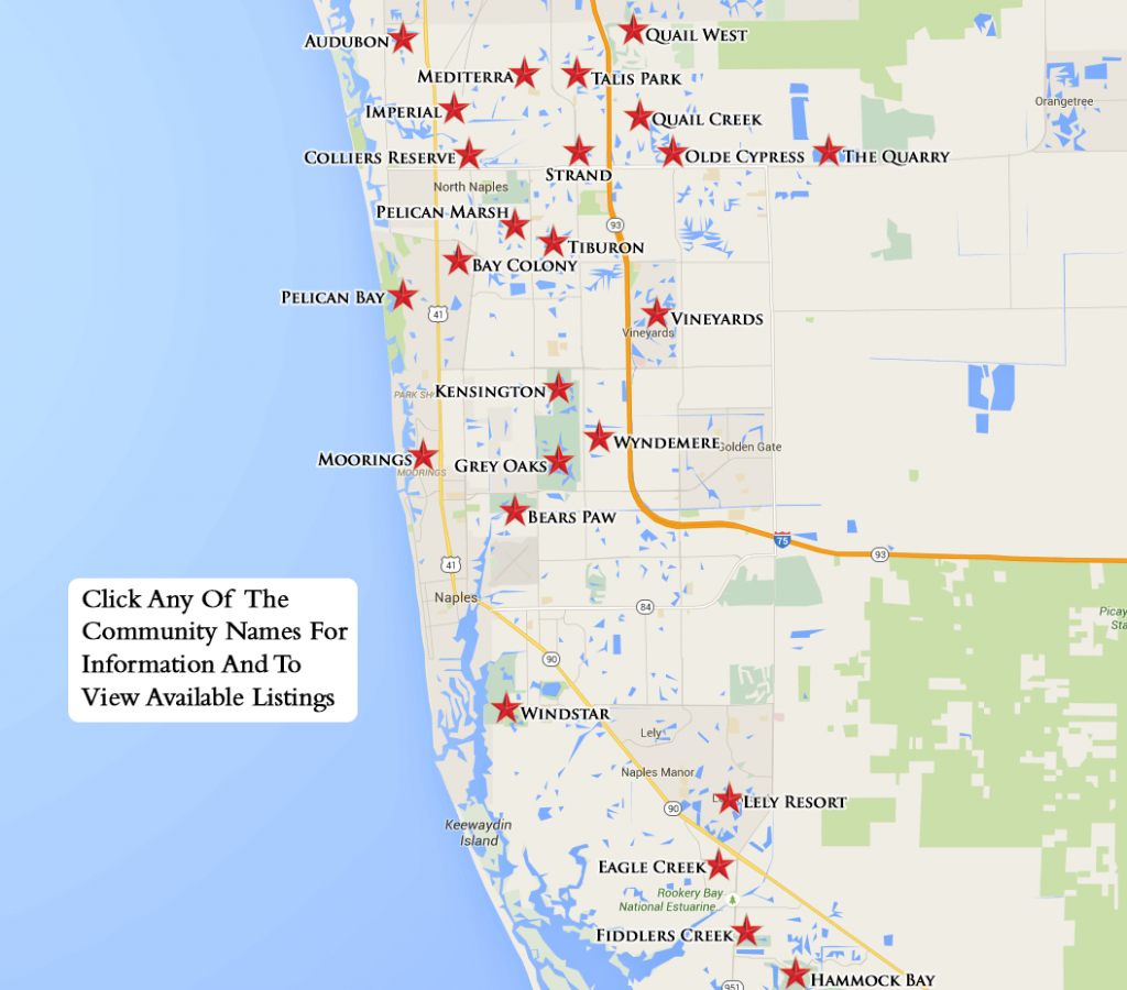 Equity Courses Map - Pelican Bay Florida Map