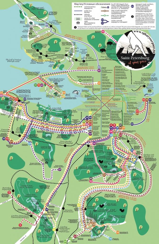 Essential Tourist Maps Of St. Petersburg (Pdf And Jpg) - Printable Tourist Map Of St Petersburg Russia