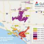 Estimated Restoration Times Announced For All Customers – Oct. 14   Lynn Haven Florida Map
