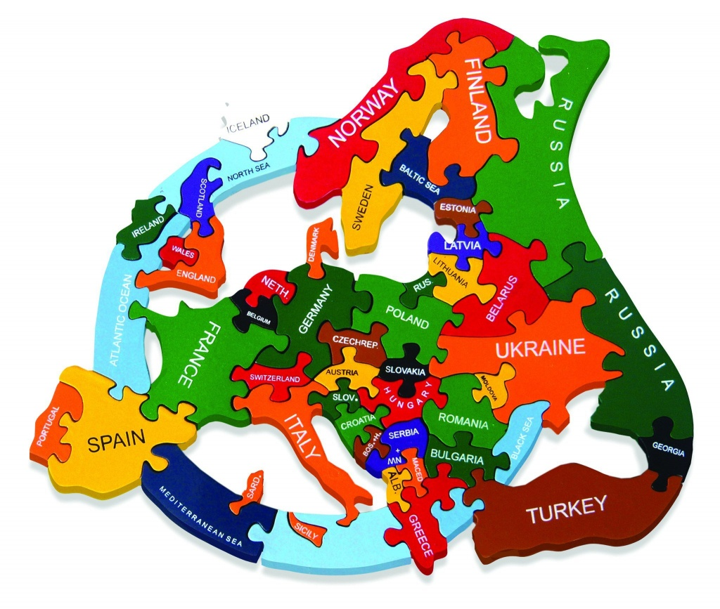 Europe Map Puzzle Printable – Orek - Europe Map Puzzle Printable
