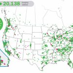 Ev Charging Map   Oukas   Ev Charging Stations California Map