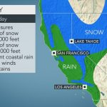 Evacuation Orders Lifted As Major Storm Slams California With Rain   California Coast Weather Map