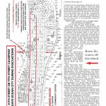 Evacuation Route Map   Printable Street Map Ocean City Nj