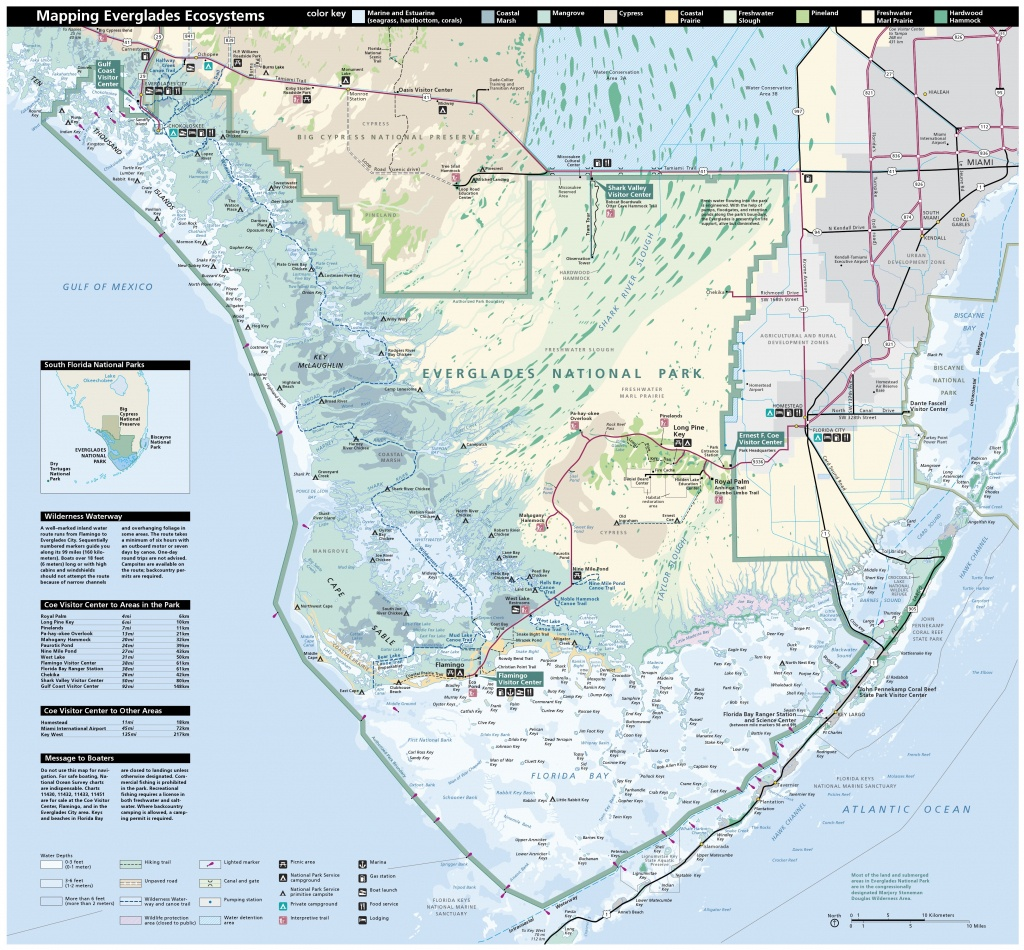 Everglades Maps | Npmaps - Just Free Maps, Period. - National Parks In Florida Map