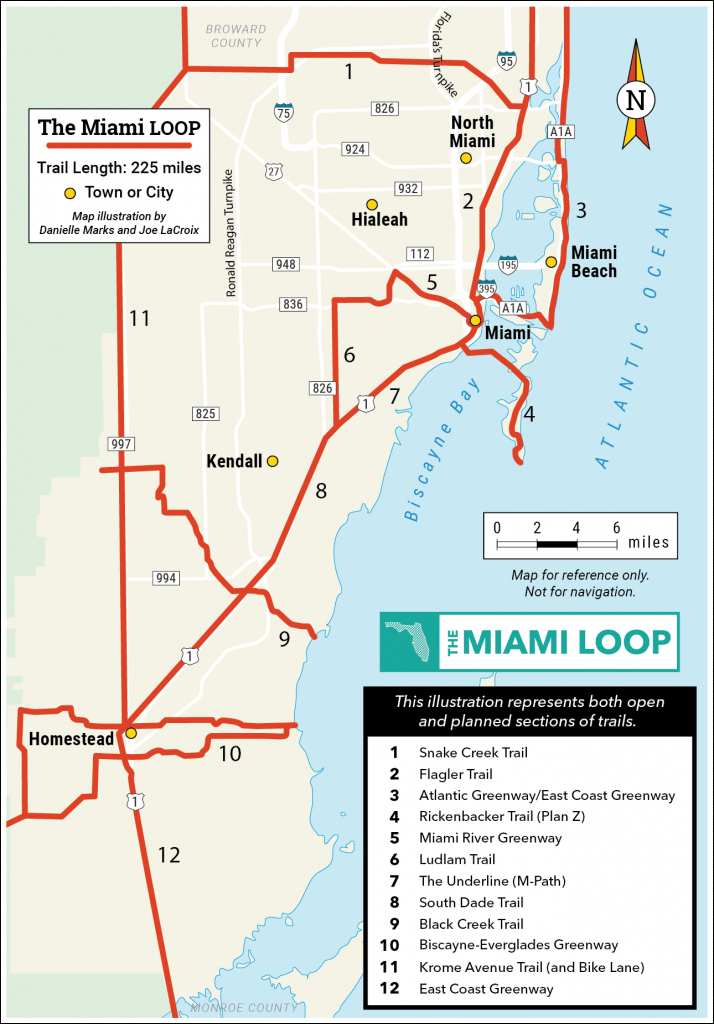 Explore The Loop   Miami Loop   Rails-To-Trails Conservancy - Rails To Trails Florida Map
