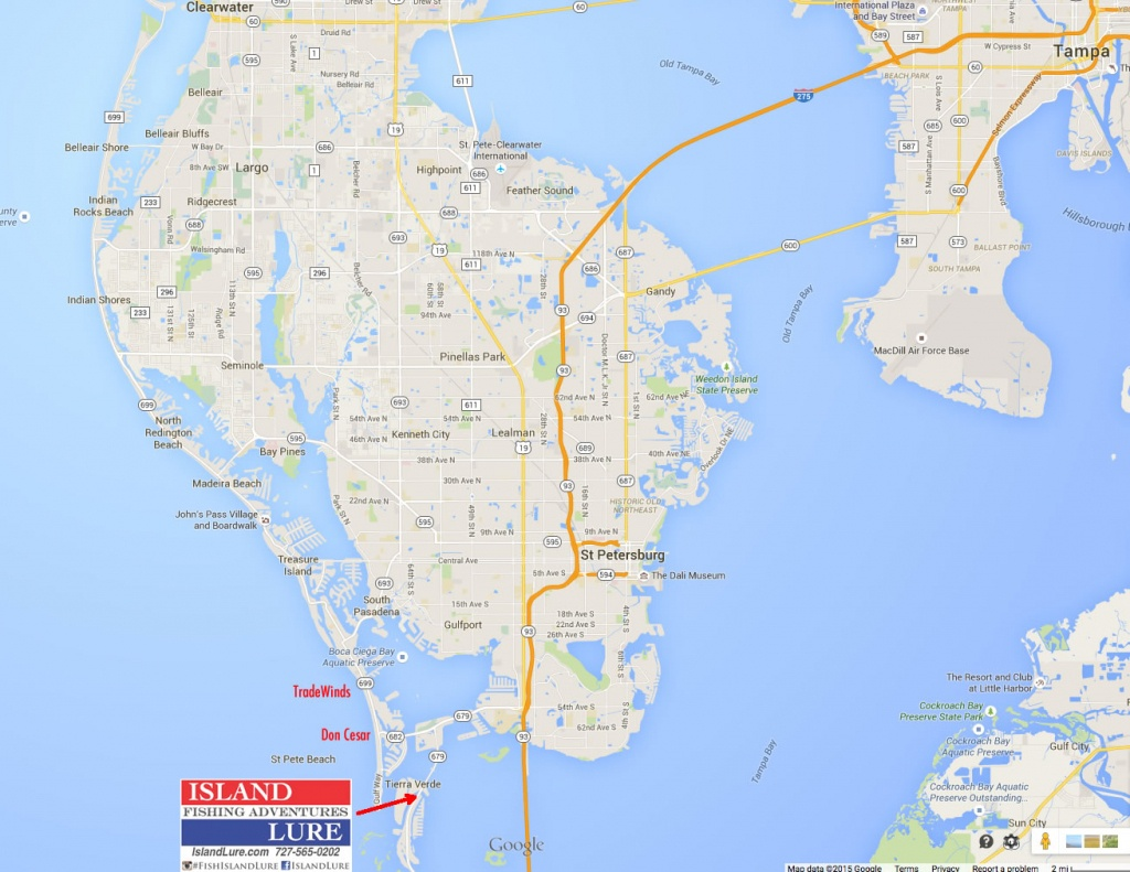 F.a.q. / Information | Fishing Charters St. Pete Beach, Tampa Bay Fl - St Pete Beach Florida Map