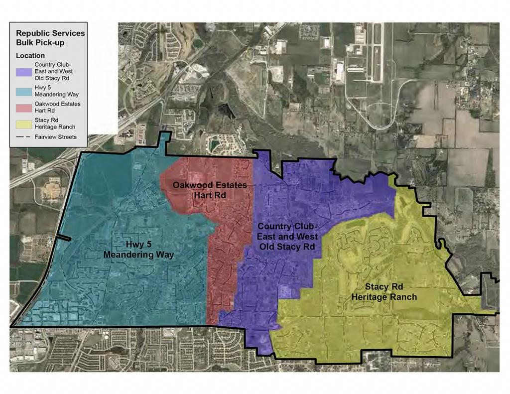 Fairview Maps - Fairview Texas Map