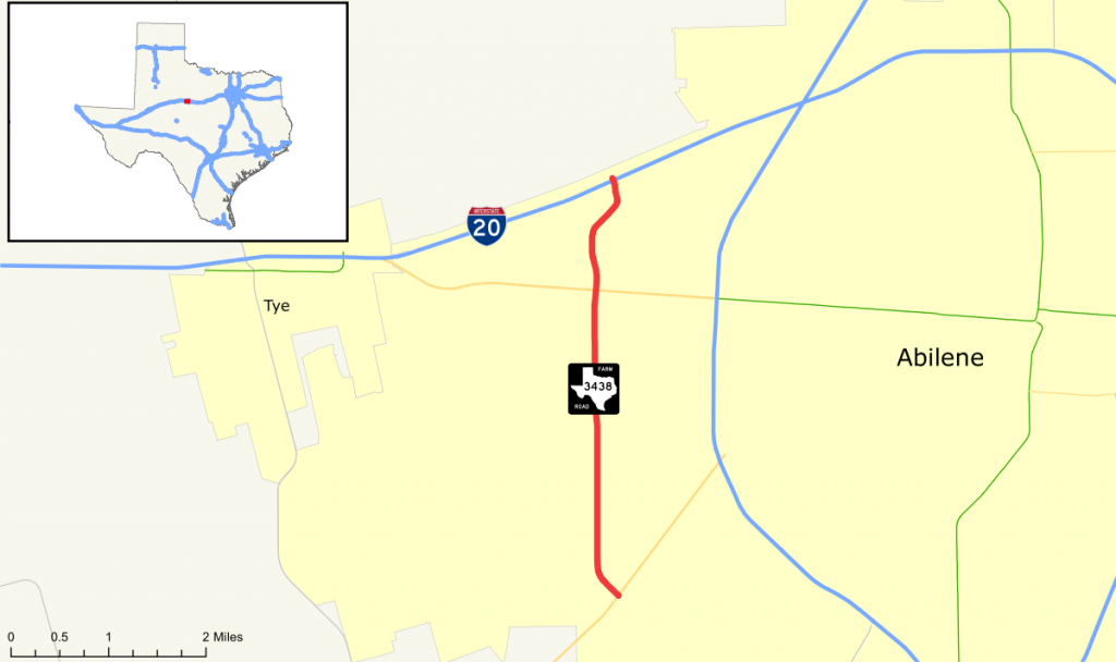 Farm To Market Road 3438 - Wikipedia - Texas Farm To Market Roads Map
