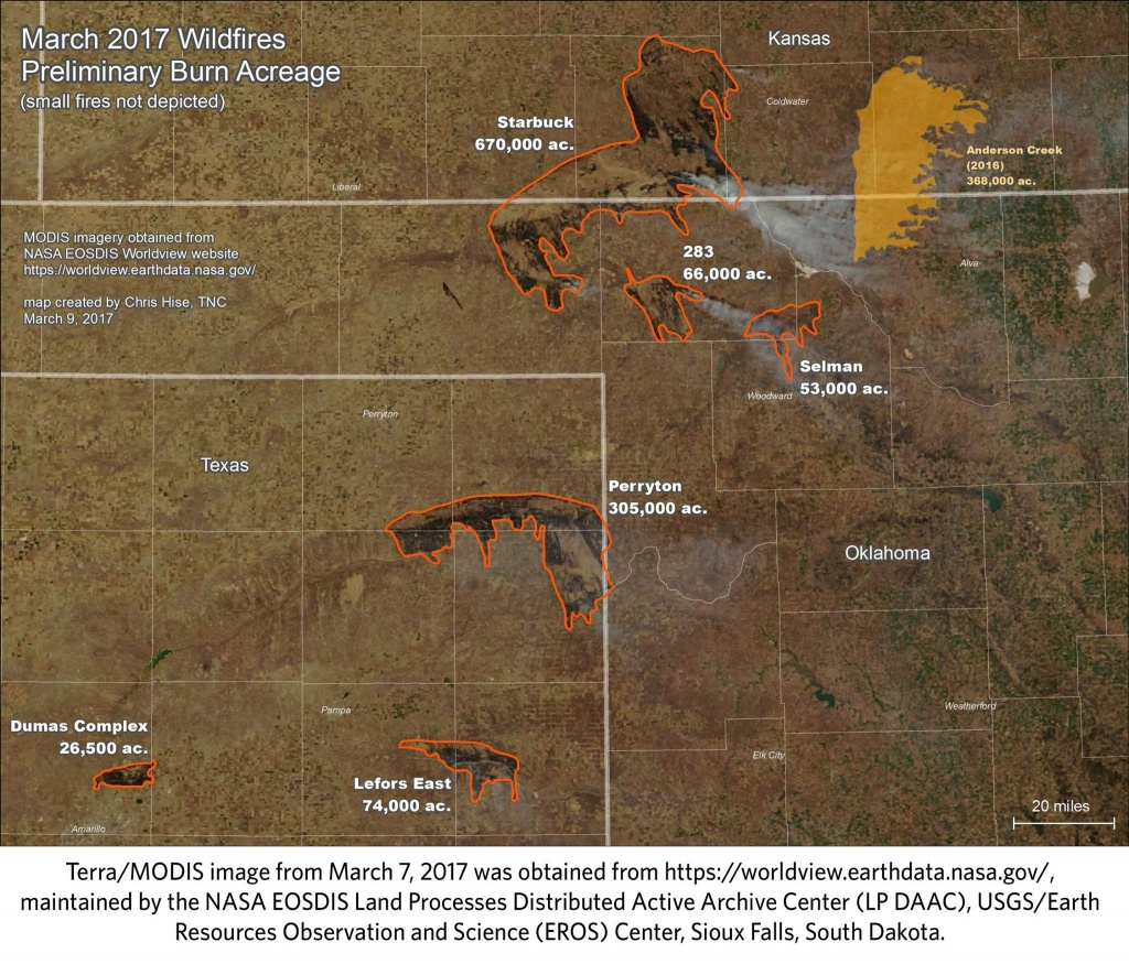 February's Weather Role In Nw Oklahoma Complex Fires (Part 1 Of 3 - Texas Active Fire Map