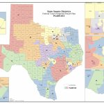Federal Judges Propose Maps For Texas Legislative Races   The Texas   Texas Us Senate District Map