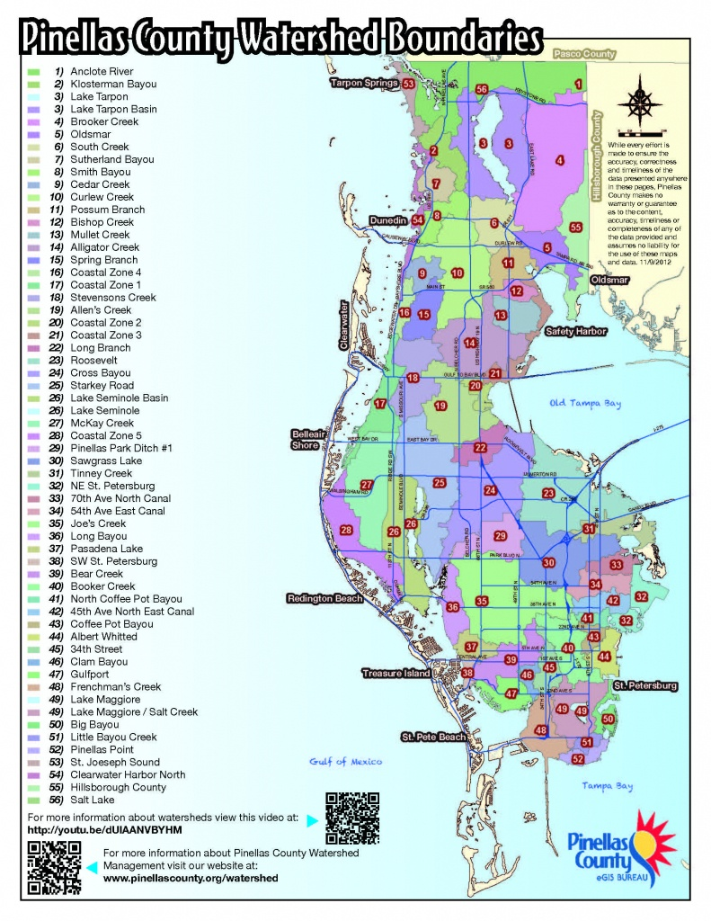 Fema Releases New Flood Hazard Maps For Pinellas County - Florida Flood Map