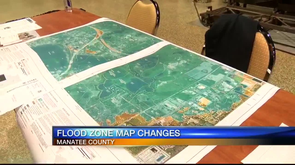 Fema Releases New Manatee County Flood Zone Maps Updated After Decades - Sarasota Florida Flood Zone Map