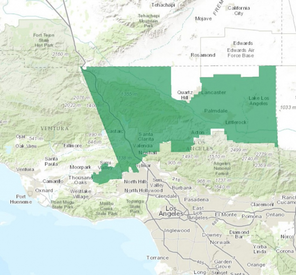 Female Political Action Committee Goes After 25Th District – Santa - California 25Th District Map