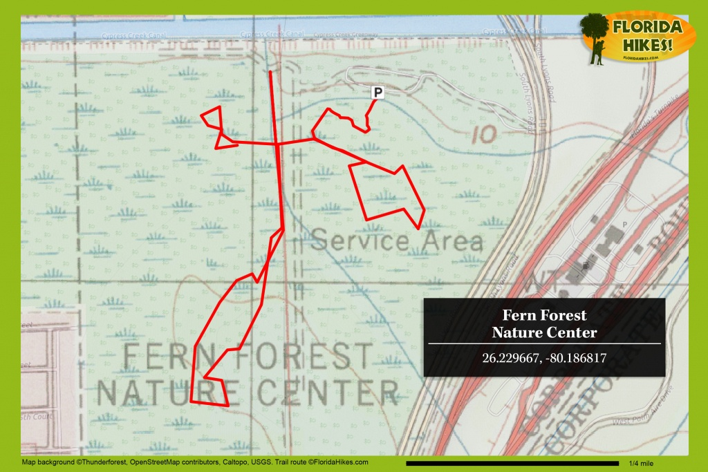 Fern Forest Nature Center | Florida Hikes! - Florida Trail Maps Download