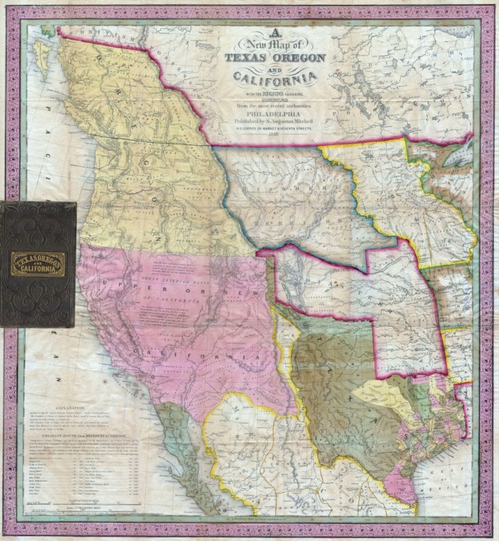 California Territory Map