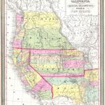 File:1853 Mitchell Map Of California, Oregon, Washington, Utah ^ New   Oregon California Map