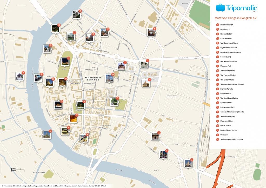 File:bangkok Printable Tourist Attractions Map - Wikimedia Commons - Bangkok Tourist Map Printable