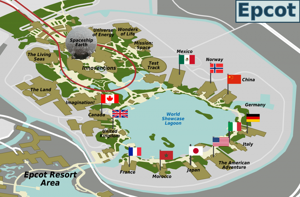 File:epcot Map - Wikimedia Commons - Epcot Florida Map