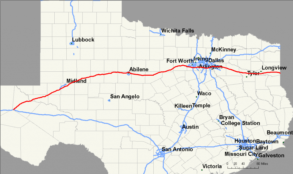 File:interstate 20 Map (Texas) - Wikimedia Commons - Texas Interstate Map