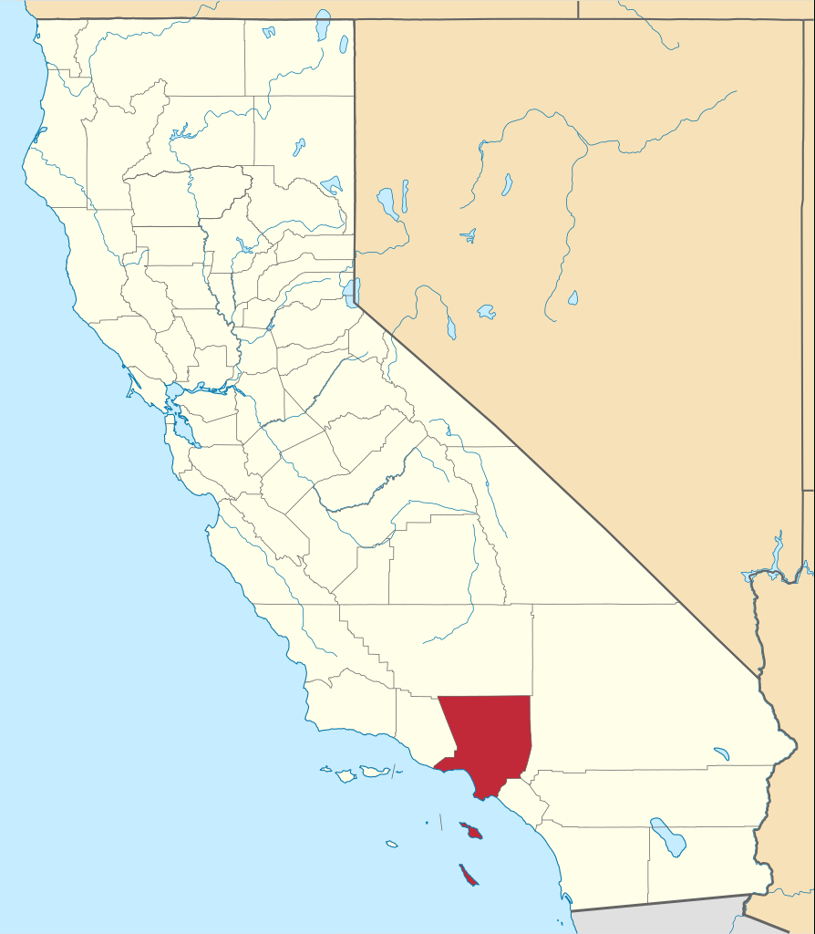 File:map Of California Highlighting Los Angeles County.svg - Wikipedia - Culver City California Map