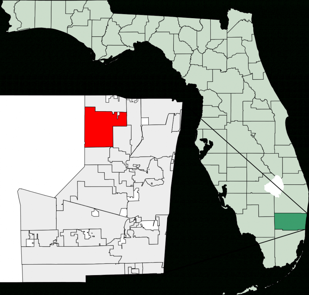 File:map Of Florida Highlighting Coral Springs.svg - Wikimedia Commons - Map Of Florida Showing Coral Springs