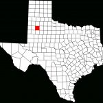 File:map Of Texas Highlighting Lubbock County.svg   Wikimedia Commons   Where Is Lubbock Texas On The Map