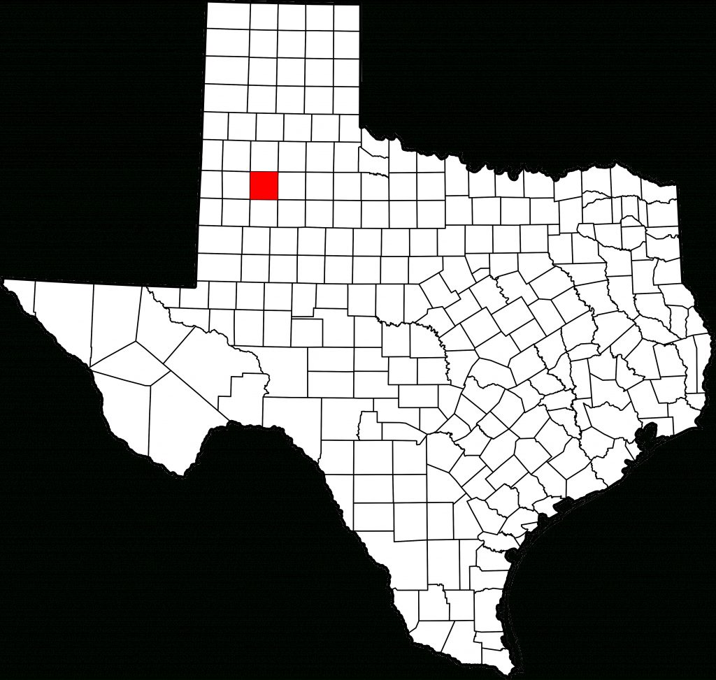 File:map Of Texas Highlighting Lubbock County.svg - Wikimedia Commons - Where Is Lubbock Texas On The Map