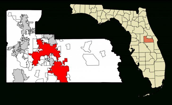 Orange Florida Map