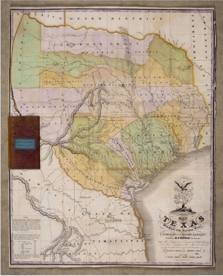Stephen F Austin Map Of Texas
